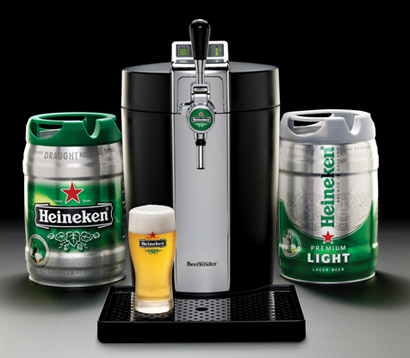 sonho de consumo cerveja toda hora heineken beertender malditovivant. Black Bedroom Furniture Sets. Home Design Ideas