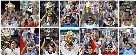Todos os 13 Gs do Federer