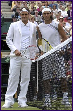 Federer honrando o passado