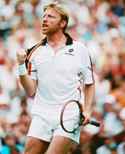 Jogo Tennis por culpa do Boris Becker