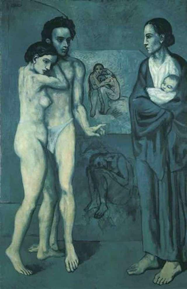 A vida (1903) - O Rosto pintado no quadro é de Casagemas