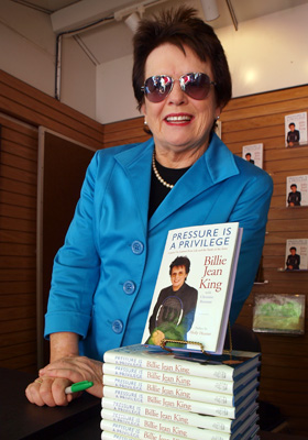 Veterana Billie Jean King