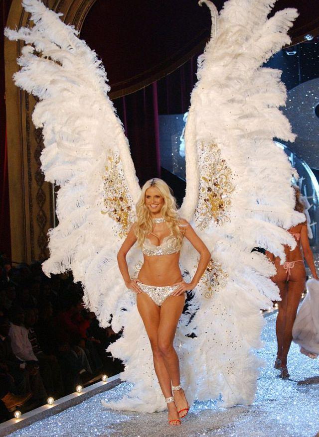 Heidi Klum, Definitivamente meu tipo de anjo