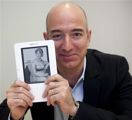 Jeff Bezos dono da Amazon.com e sua capa feia de Jane Austen
