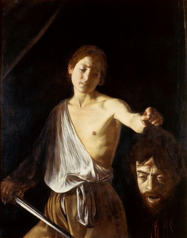 Davi com a Cabeça de Golias 1609 - 1610