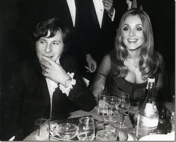 Sharon Tate e Polanski