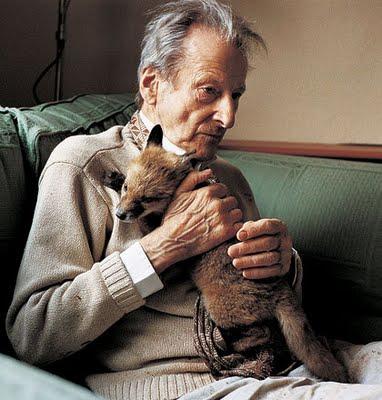 Lucian Freud e raposa