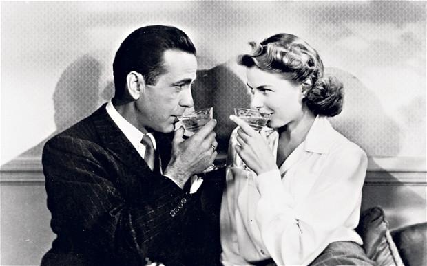 Bogart tinha uma boa vida, belas mulheres!
