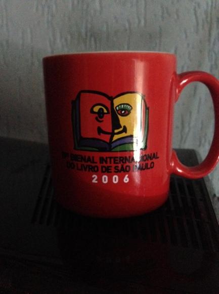 A Mítica Caneca da Bienal do livro de 2006