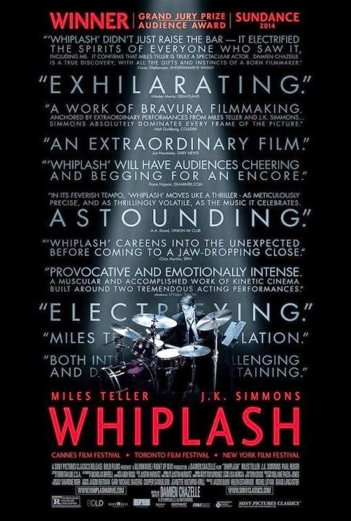 whiplash poster 2014