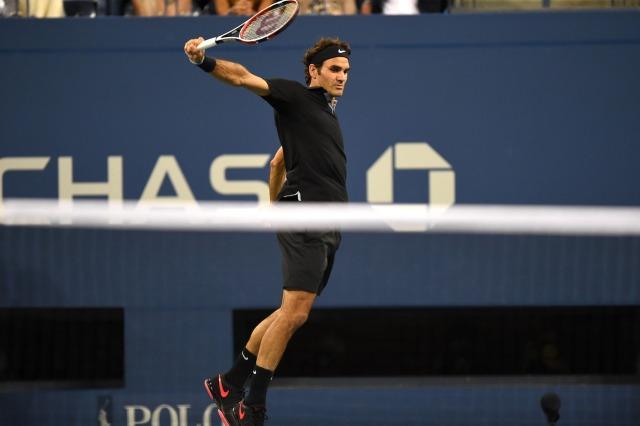 Federer voltou a jogar muito