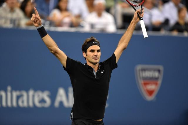 Federer novamente entre os maiores