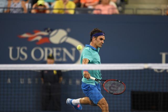 Federer jogando e pensando no nada!