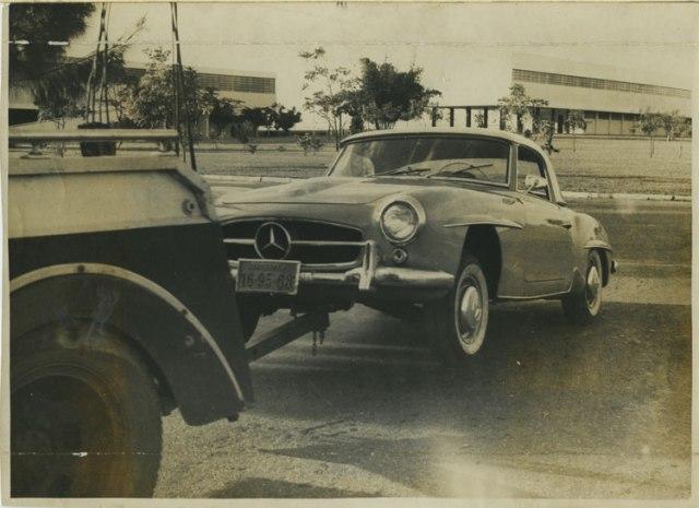Mercedes do JK chega ao Brasil