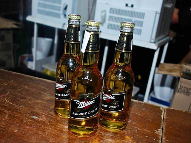 A cerveja Miller